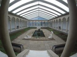 patio musée d'art de blanes