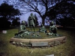 statue las charuuas au prado